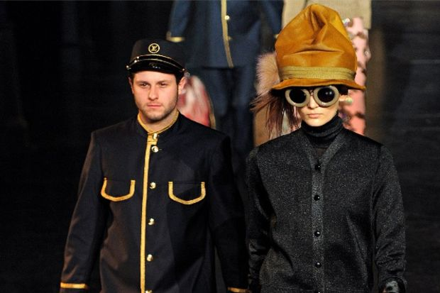 Louis Vuitton 2012 Kış defilesi...