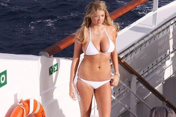 -35 derecede bikinili çekim!