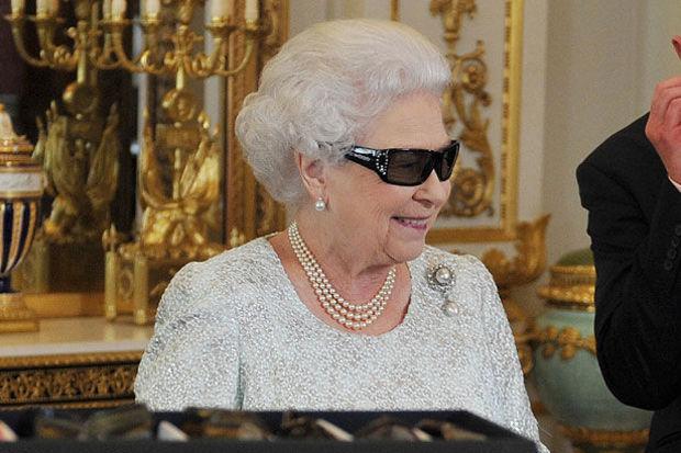 Üç boyutlu kraliçe!