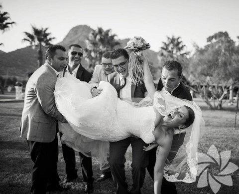 Gangnam style düğün fotoğrafları