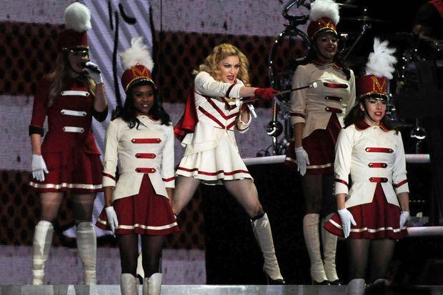 Konserlerde en çok Madonna kazandı!