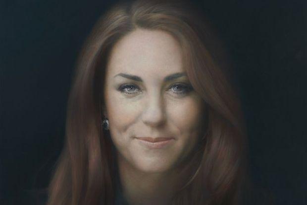 Kate'in portresine 'rezalet' tepkisi!