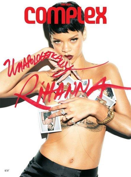 <p>Rihanna'dan seksi pozlar...</p>