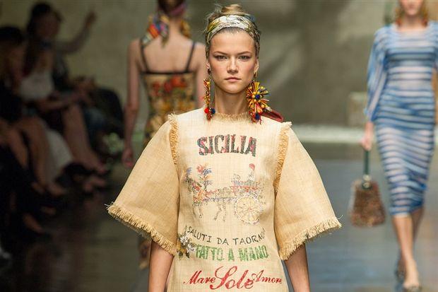 Dolce & Gabbana 2013 İlkbahar Yaz Koleksiyonu