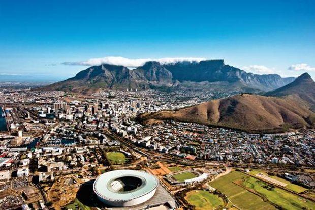 Bir Afrika masalı: Cape Town..
