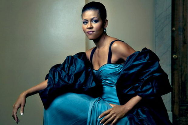 Politikayı renklendiren isim Michelle Obama!