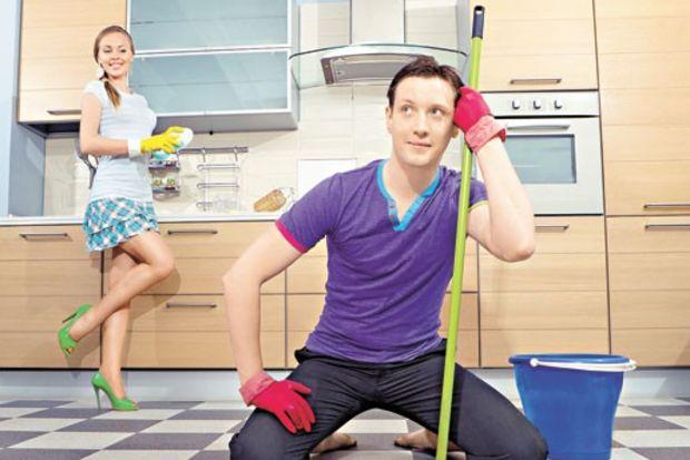 Erkek daha çok ev işi yapıyor!