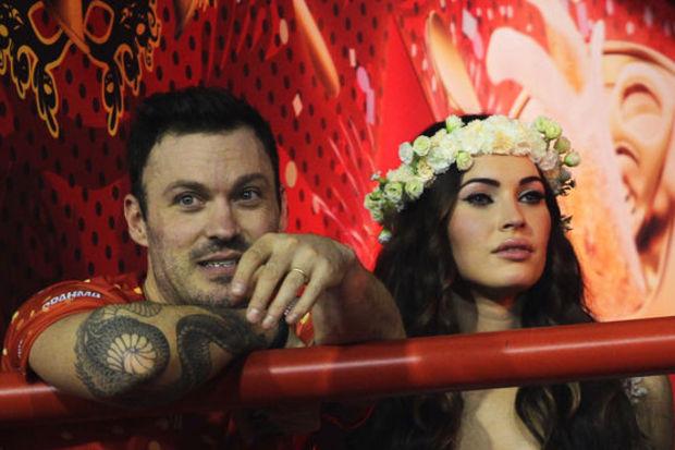 Karnaval kraliçesi Megan Fox!