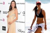 Doğumdan önce ve sonra Hollywood anneleri