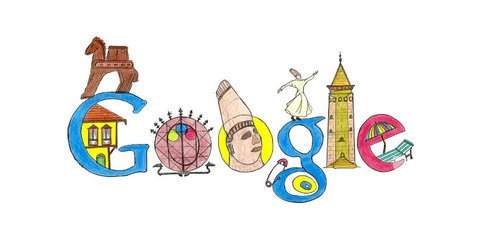 Doodle 4 Google logo finalistleri...