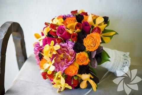 Gelin çiçekleri...