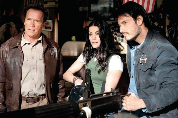 'Kahraman şerif' Arnie