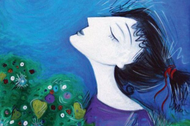 """""""Bir erişkinin düşsel bir dünyaya sığınma isteği"""" resim sergisi…"""