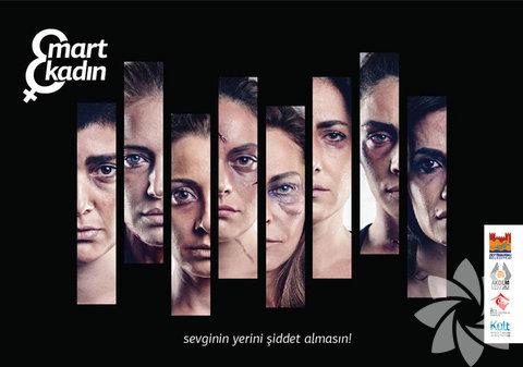 """""""8 Mart 8 Kadın"""" isimli sosyal sorumluluk projesi, fotoğraflar Mehmet Turgut tarafından çekildi."""