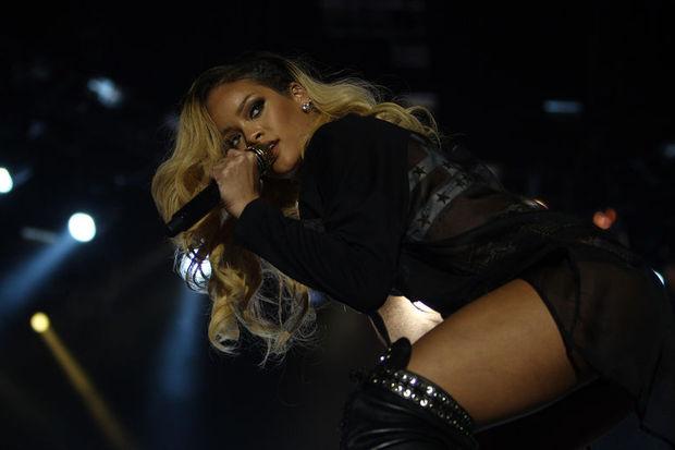 İstanbul'da Rihanna rüzgârı!