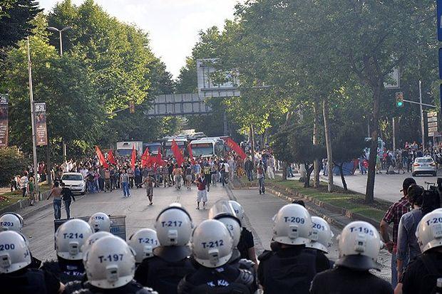 ''Gezi Parkı'' olayları sürüyor...