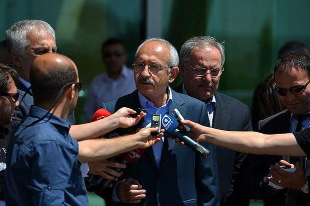 Kılıçdaroğlu, Gezi Parkı'ndaki olaylara ilişkin halkın tepkilerini medyanın göstermediğini savundu...