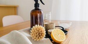 Evde doğal temizliğin sırları