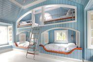 Yatak odanız için ilginç ranza modelleri...