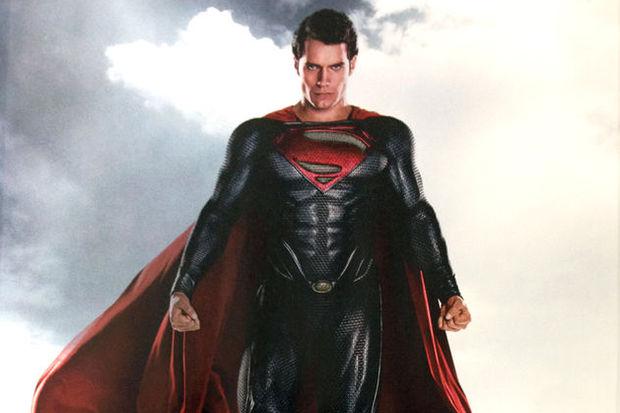 Superman sette aç gezmiş!