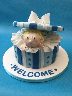 Hoşgeldin bebek pastaları