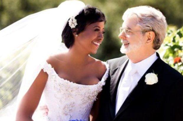 George Lucas evlendi