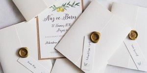 İlham verici düğün davetiyeleri