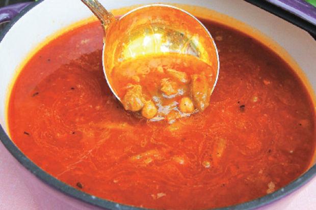 Kuru bamyalı çorba
