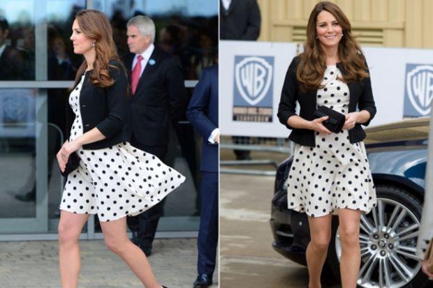 Kate Middleton'ın ilham veren hamilelik stili...
