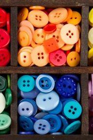 Düğmelerle sanat