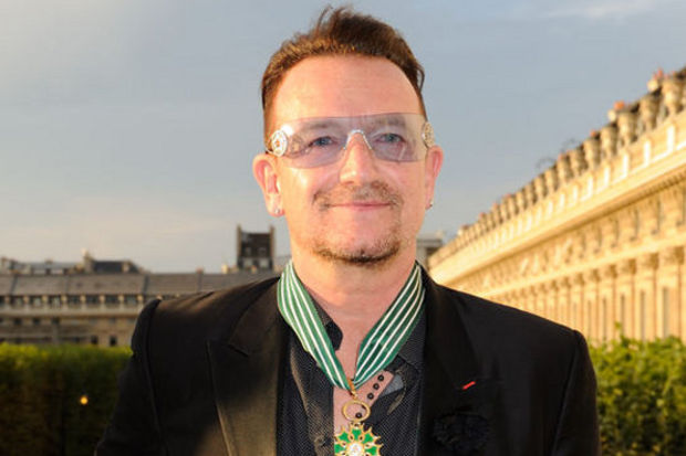 Bono'ya prestijli sanat nişanı