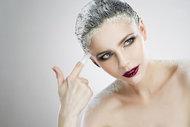 Saçlarınız için maya  maskesi...