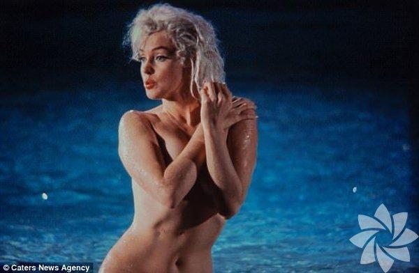 Marilyn Monroe'nun ender bulunan fotoğraflar serisine bir yenisi daha eklendi.