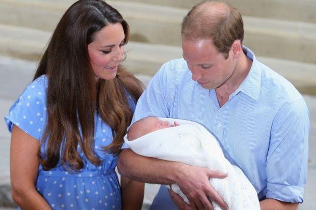 İşte ergen Prens George!