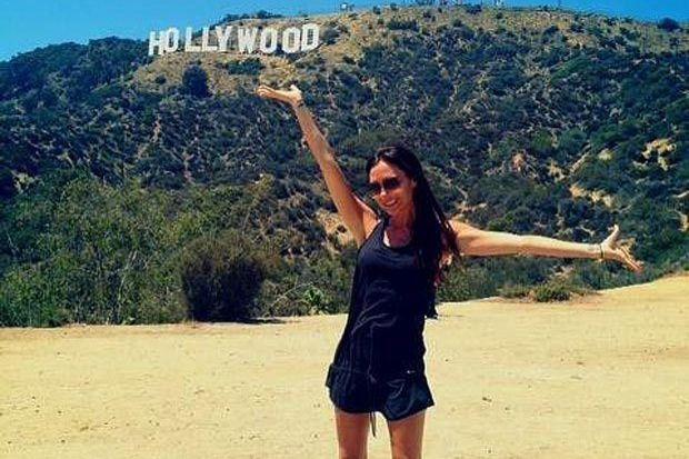 Hollywood hatırası çektirdi!
