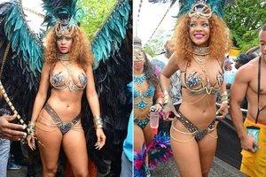 Karnaval kraliçesi Rihanna