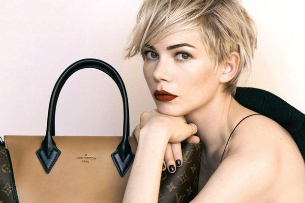Yeni reklam yüzü Michelle Williams