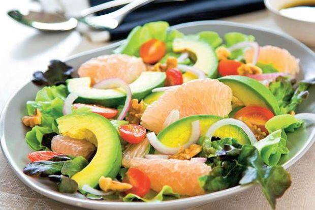Hafif yaz salataları...