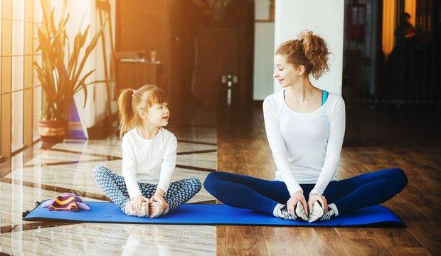Çocuklarda konsantrasyon için yoga pozları