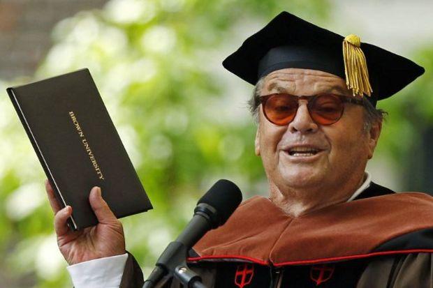 Jack Nicholson bunadı!