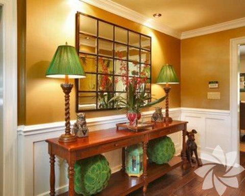 Zümrüt yeşili dekorasyonlar
