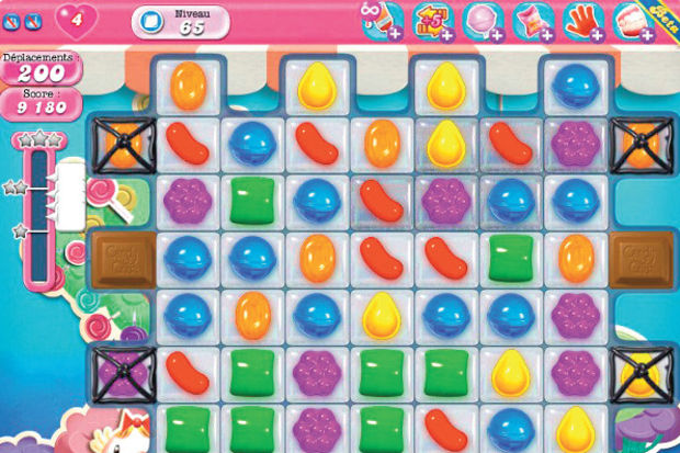 Yani Candy Crush bile...