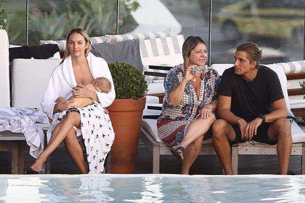 """<p><span class=""""s1"""">Ekim ayında ilk çocuğu Anaca'yı dünyaya getiren 28 yaşındaki süper model, önceki gün Brezilya'nın Rio de Janeiro kentinde Mert Alaş ve Marcus Piggott'nun objektifine poz verdi.</span></p>"""