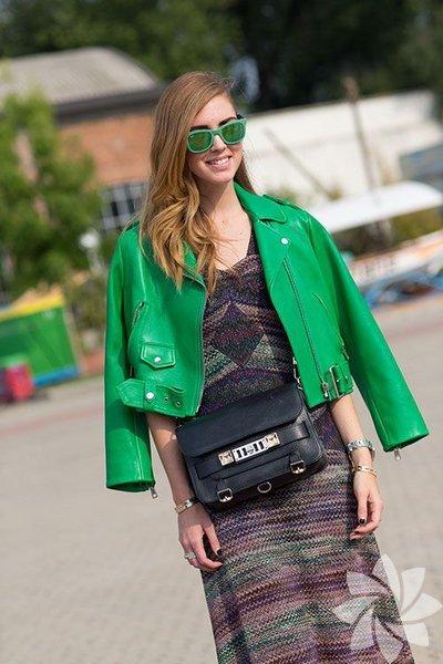 <p>2014 Modası Deri Ceketler</p>