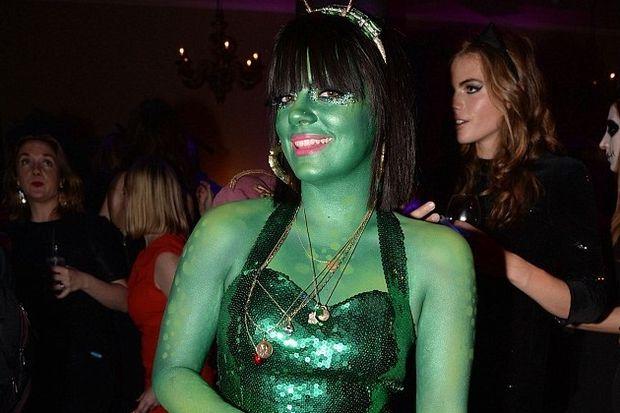 Yeşil makyaj cildini bozdu