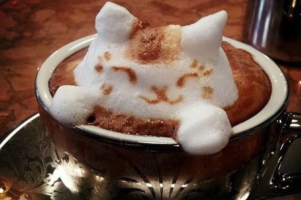 Kahvenizi 3 boyutlu mu alırsınız?
