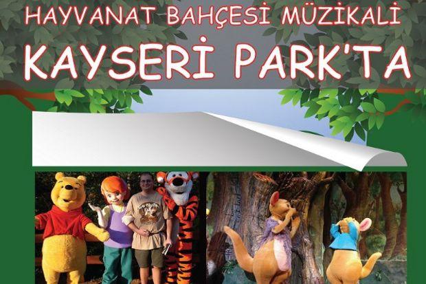 Çocuklar Hayvanat Bahçesi Müzikali'ne