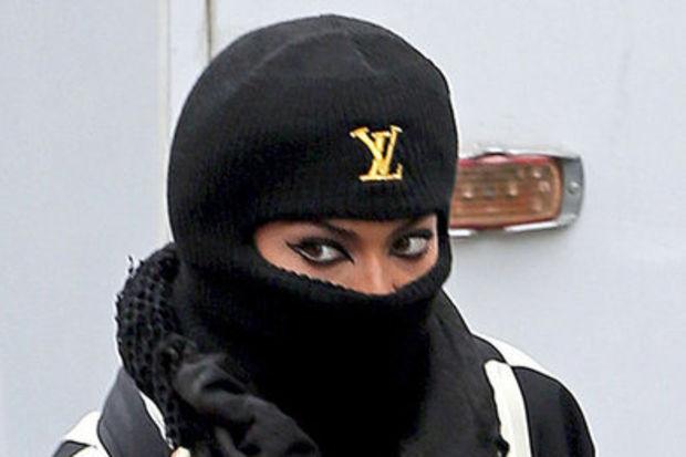 Peçeli Beyonce