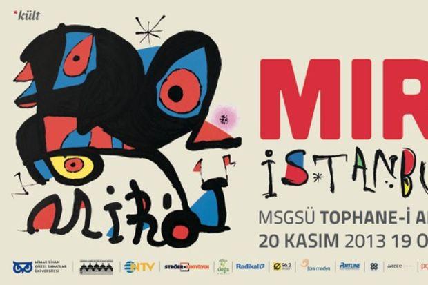 Joan Miro sergisi