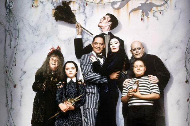 Addams Ailesi geri dönüyor
